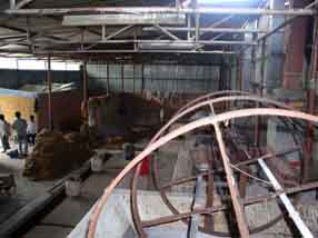 Dye room