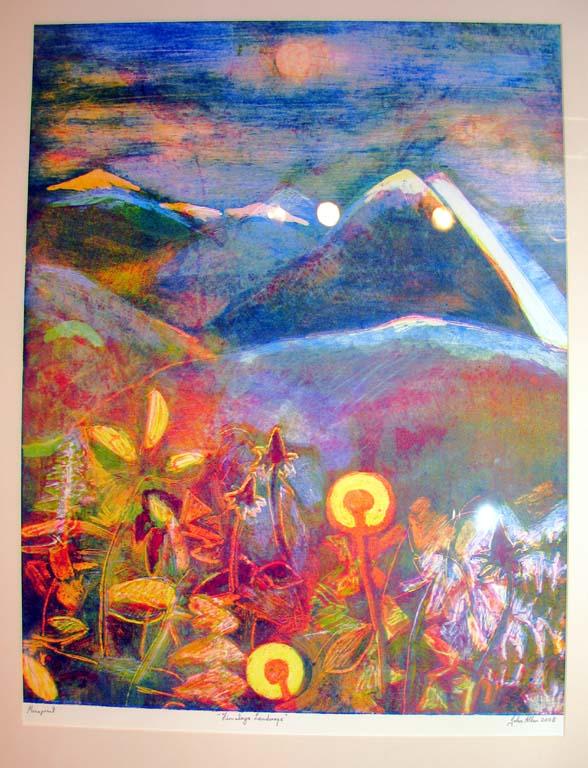 Mountain Flowers 1 by John Allen