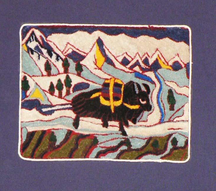 Mountain Yak 15cm x 19cm